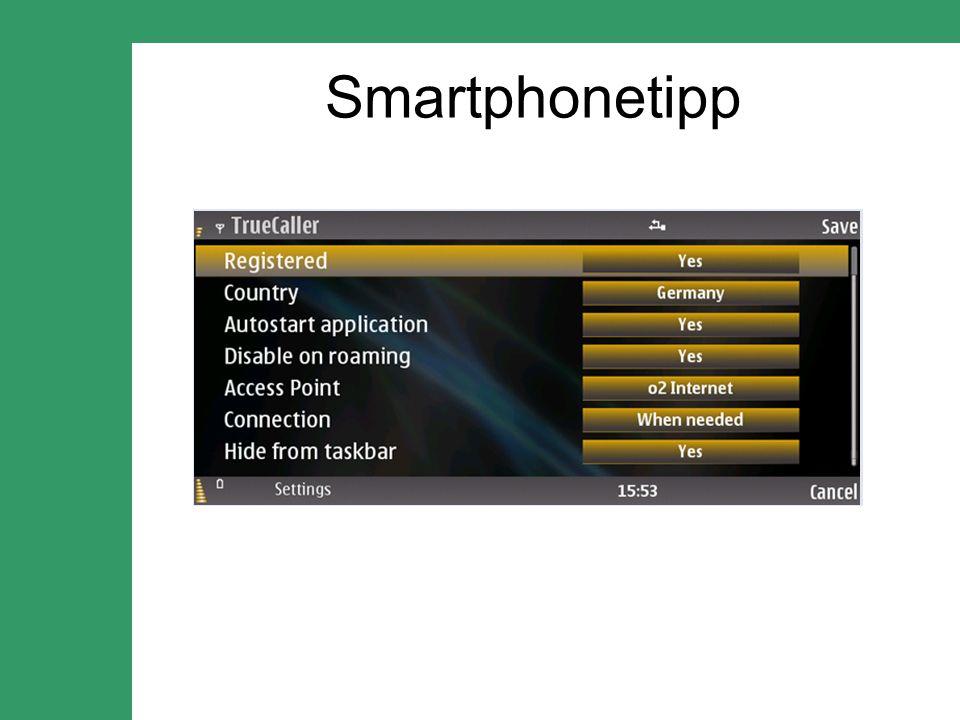 Smartphonetipp