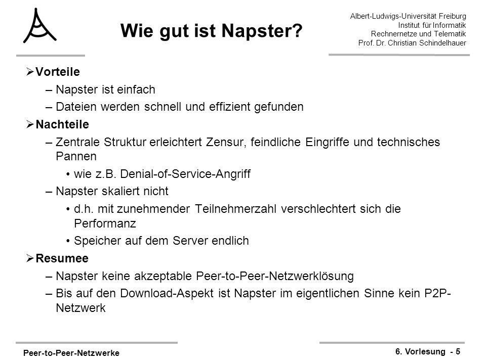 Peer-to-Peer-Netzwerke 6.
