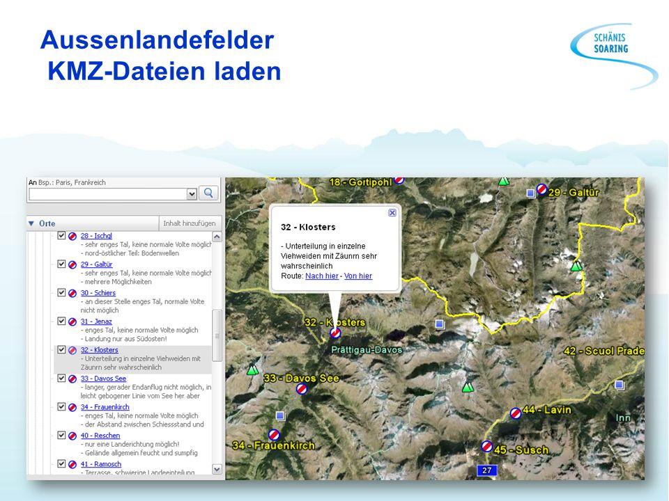 Aussenlandefelder KMZ-Dateien laden
