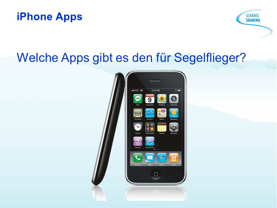 iPhone Apps Welche Apps gibt es den für Segelflieger?