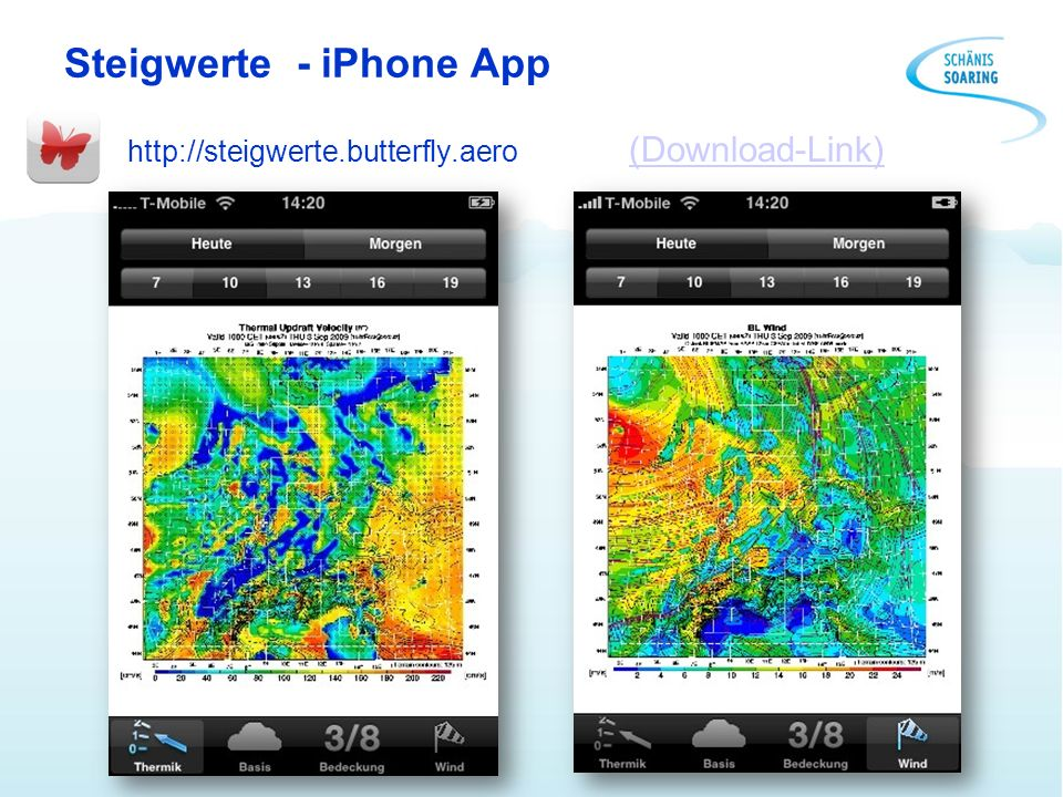 Steigwerte - iPhone App http://steigwerte.butterfly.aero (Download-Link) (Download-Link)