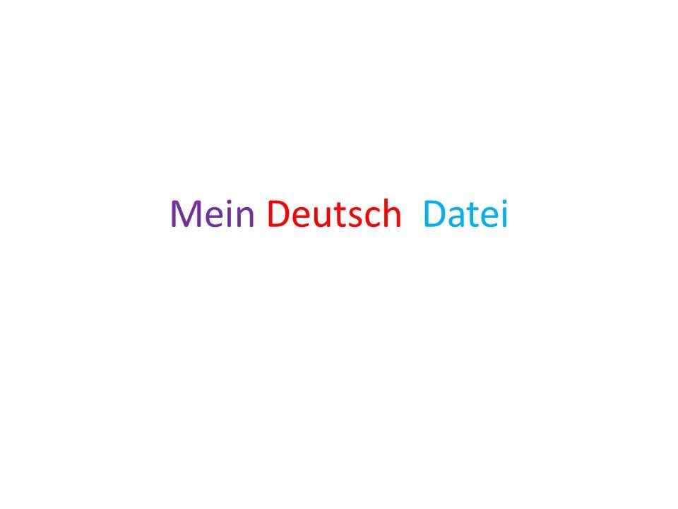 Mein Deutsch Datei
