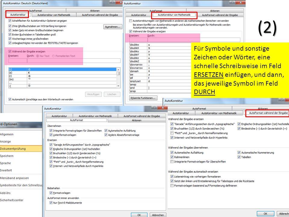 Speichern Datei- Optionen- Speichern Wenn man die alten Wordart- Formatierungen durchgehend haben möchte, so kann man hier den Standard *.doc auswählen.