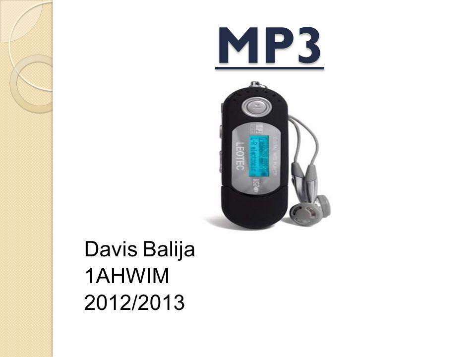 MP3 Davis Balija 1AHWIM 2012/2013