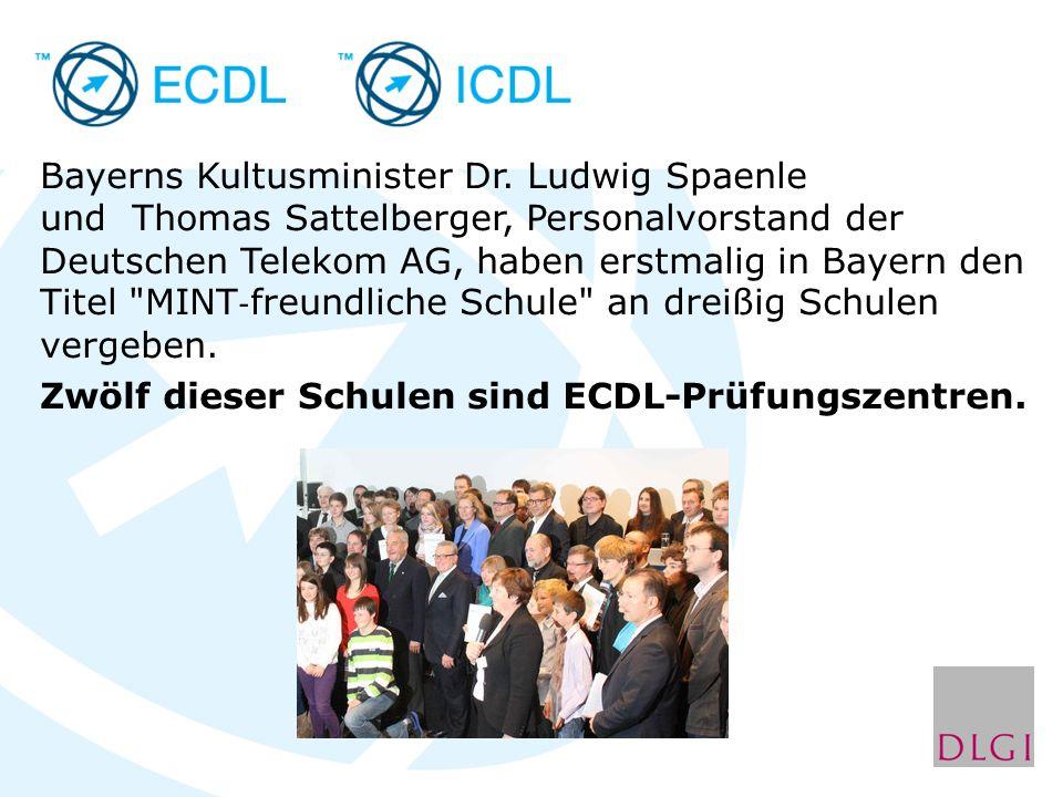 Bayerns Kultusminister Dr.