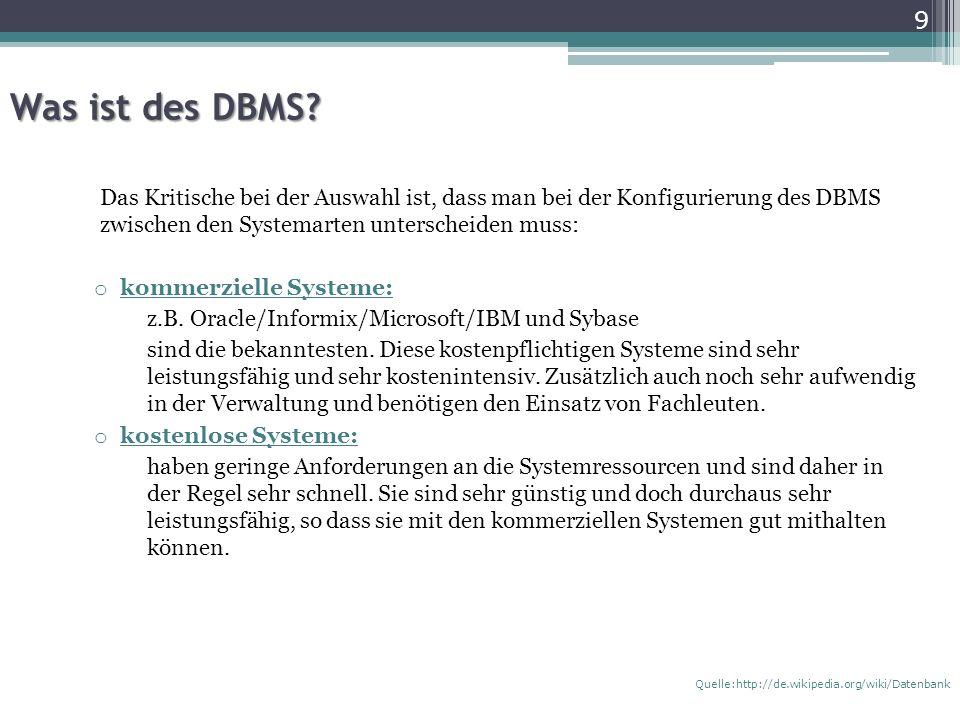 Mehrbenutzerfähigkeit beim DBS Für die Benutzung werden Berechtigungen verwaltet.