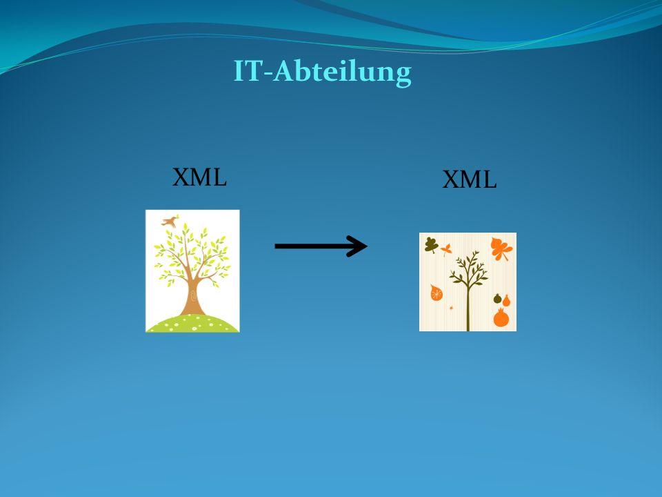 IT-Abteilung XML