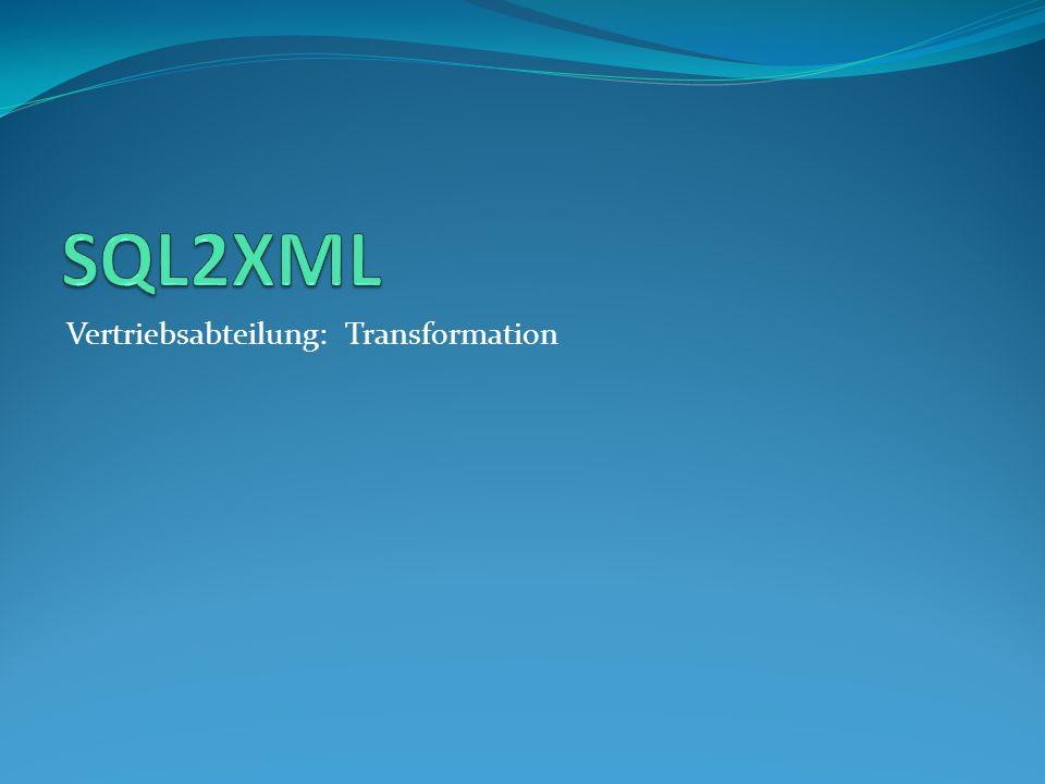 Vertriebsabteilung: Transformation
