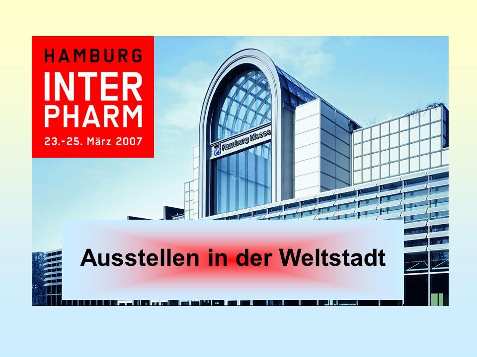Hamburg Der zentrale und ideale Veranstaltungsort für die Interpharm 2007