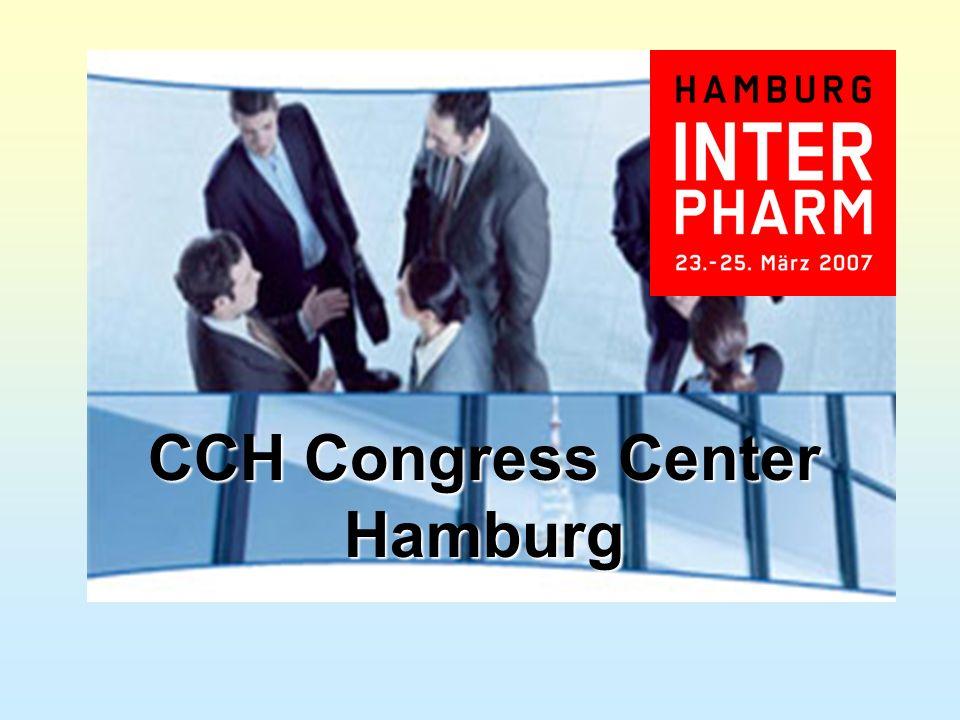 DAV und Foyer Eingang und Foyer CCH Congress Center Hamburg