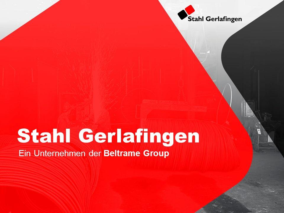 Stahl Gerlafingen Ein Unternehmen der Beltrame Group