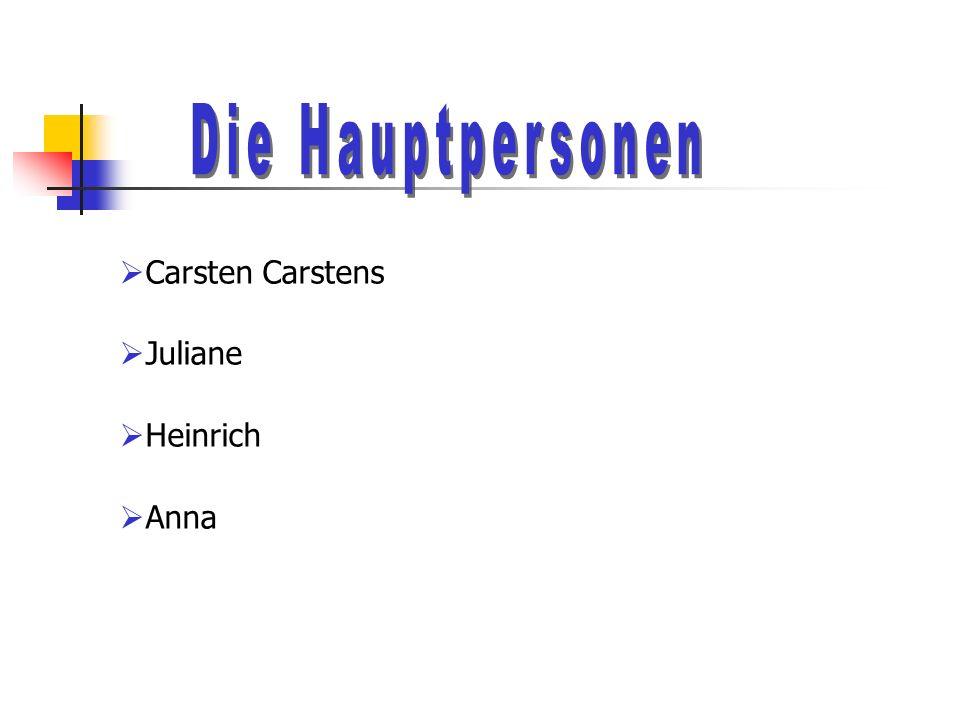 Carsten Carstens Juliane Heinrich Anna