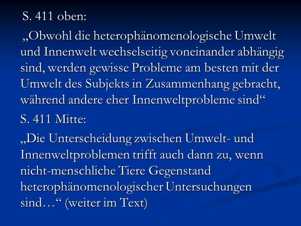 Radner, S.424 (zu Tinbergen- und Lawick-Goodall - Beispielen): Radner, S.