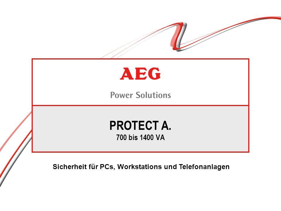PROTECT A.VI Technologie ( line - interactive ) 1400 VA 1000 VA 700 VA 500 VA PROTECT A.