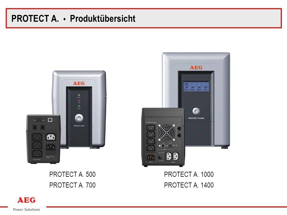 PROTECT A. 500PROTECT A. 1000 PROTECT A. 700PROTECT A. 1400 PROTECT A. Produktübersicht