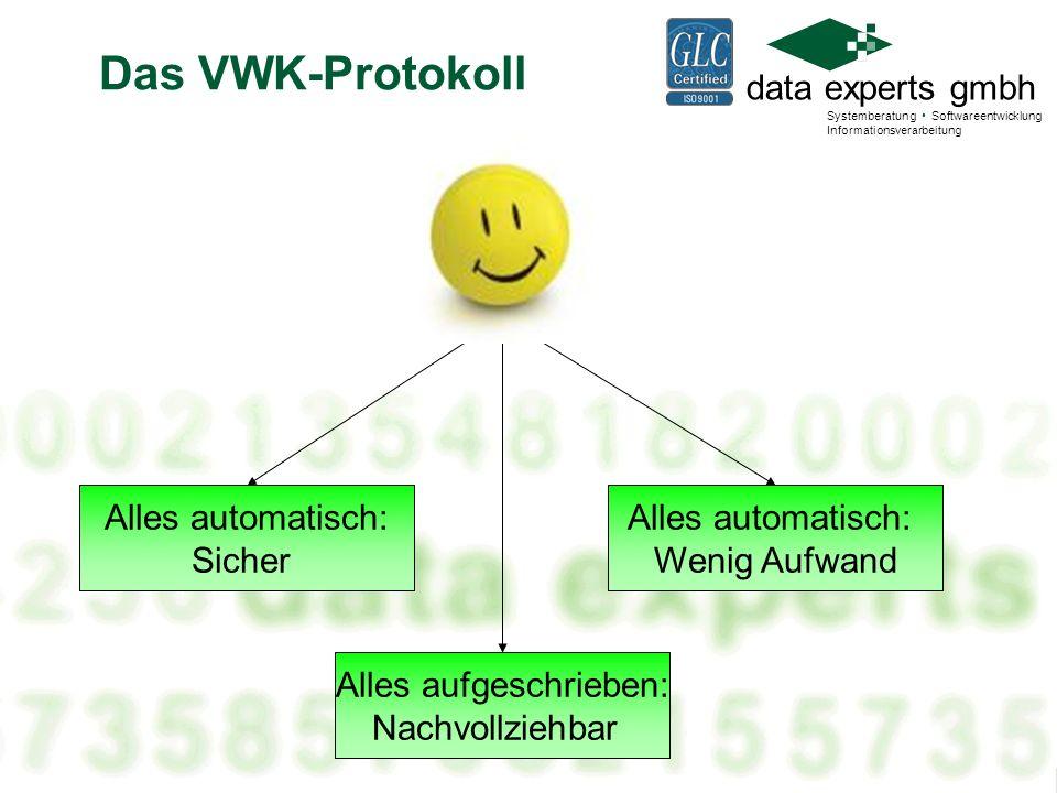 data experts gmbh Systemberatung Softwareentwicklung Informationsverarbeitung Automatische Prüfungen FP 200 MB