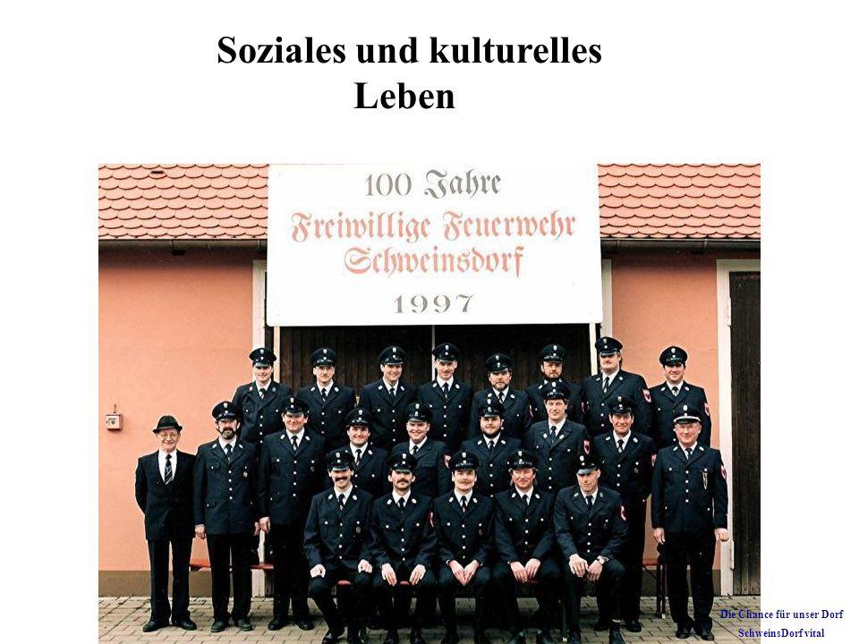 Soziales und kulturelles Leben Die Chance für unser Dorf SchweinsDorf vital