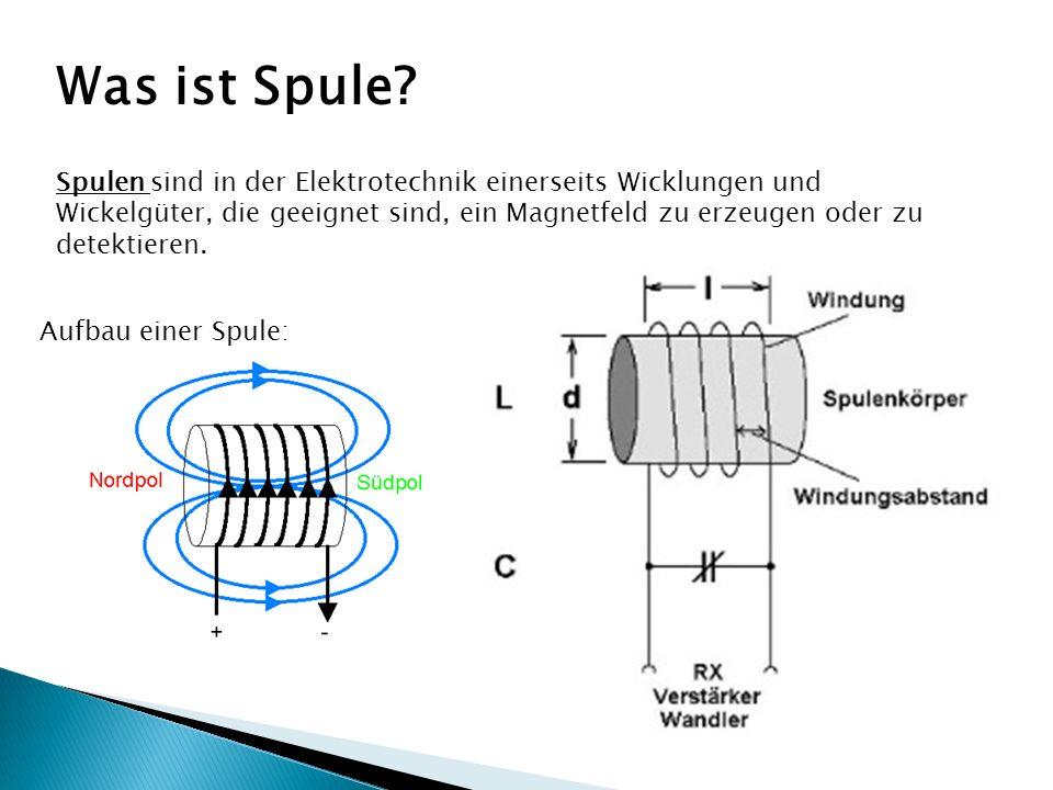 Was ist Spule.