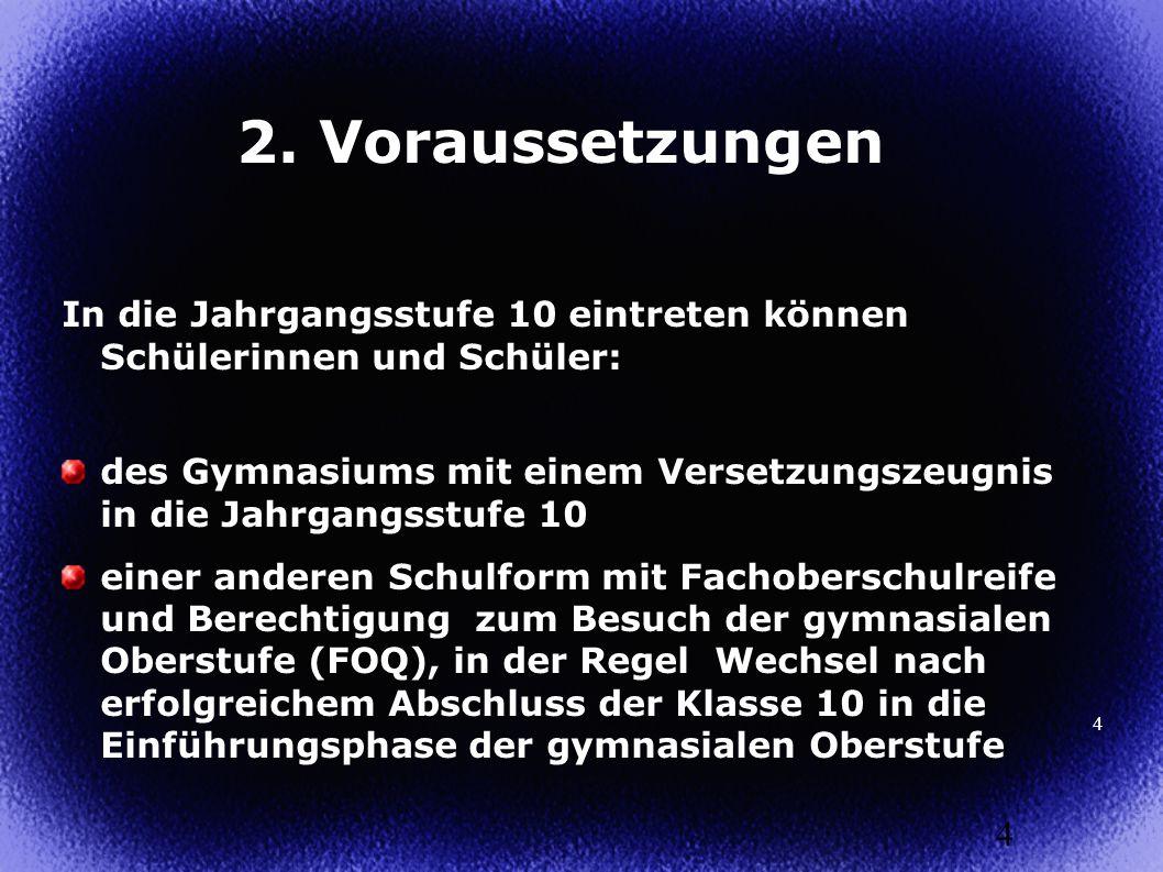5 3.Aufbau der Oberstufe 5 Abiturprüfung Jgst. 12 Qualifikationssphase 2 (Q2) Jgst.