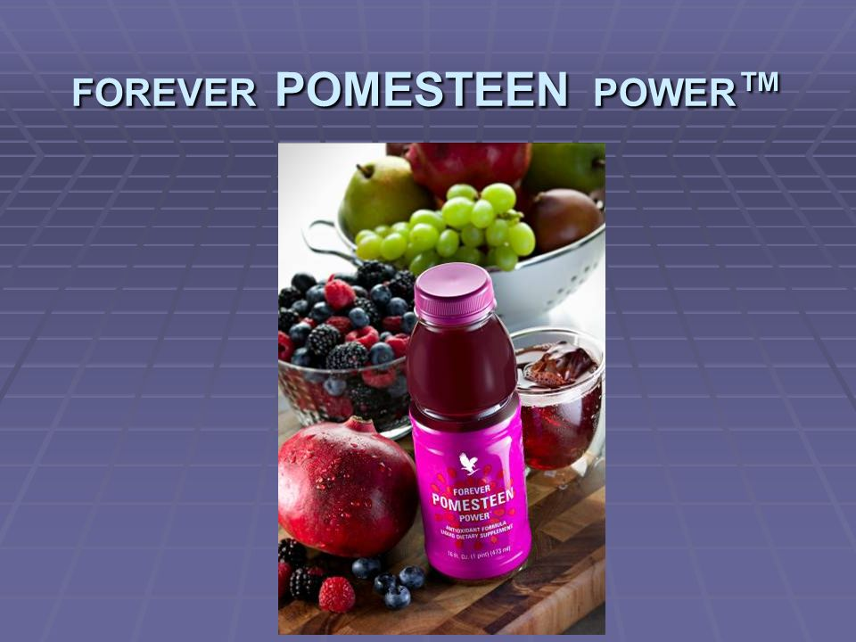 FOREVER POMESTEEN POWER FOREVER POMESTEEN POWER