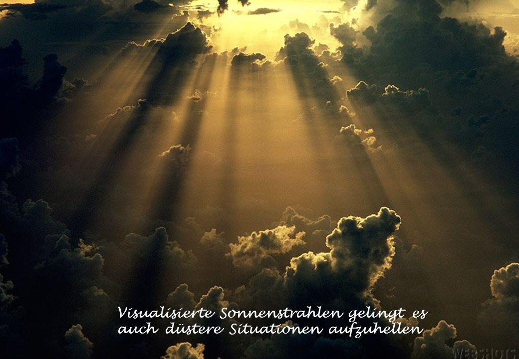 Visualisierte Sonnenstrahlen gelingt es auch düstere Situationen aufzuhellen