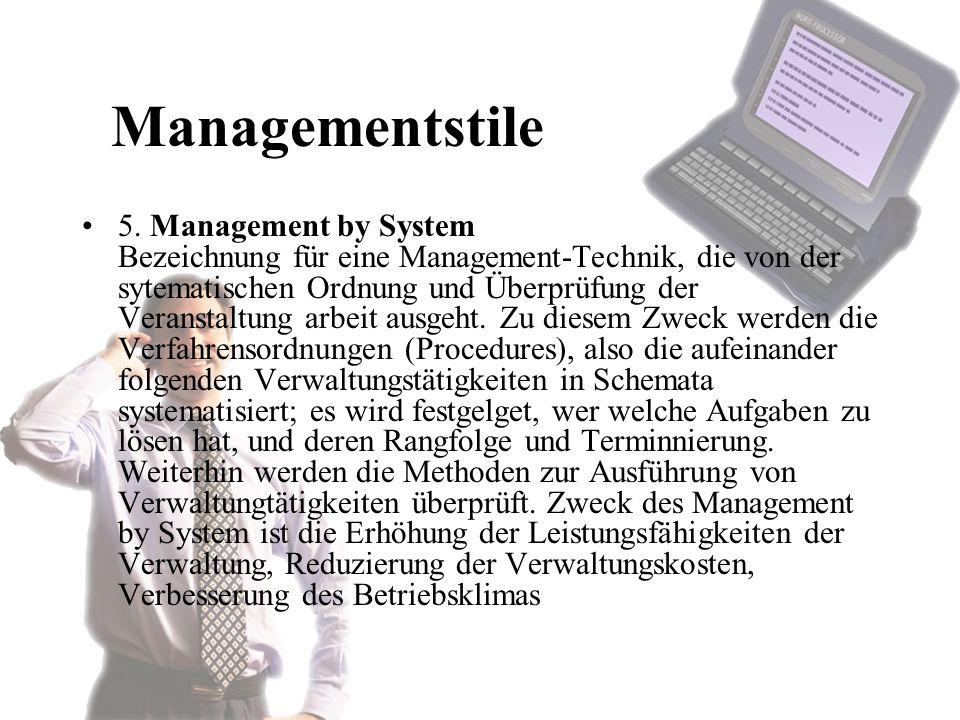 Managementstile 5.