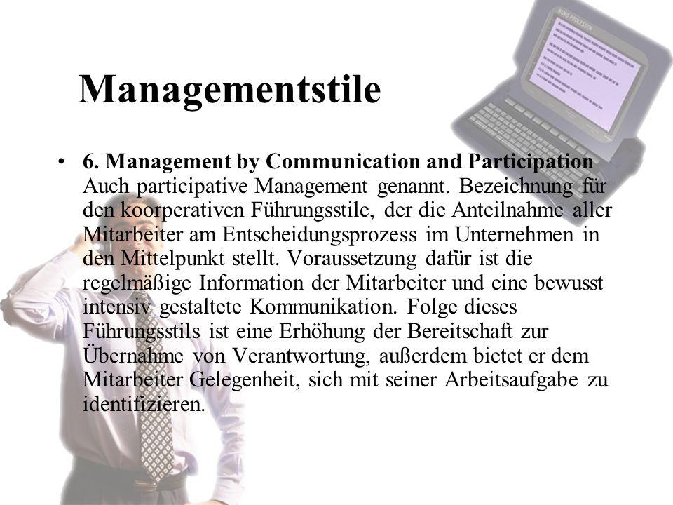 Managementstile 6.