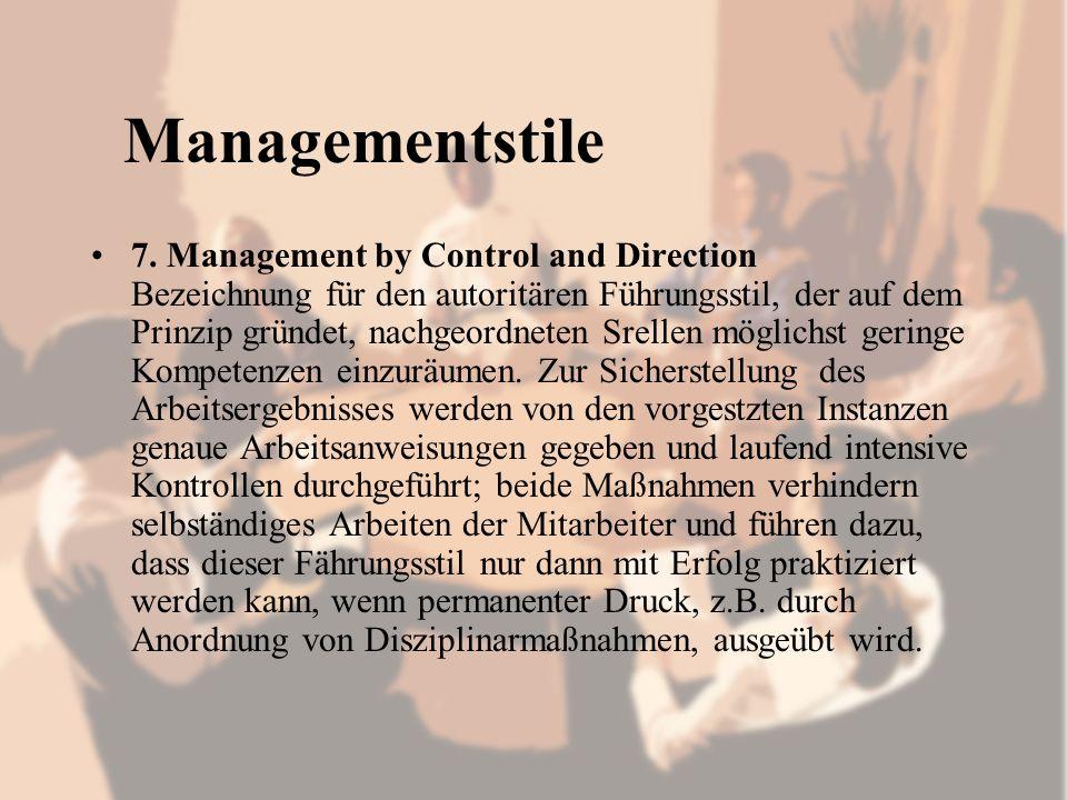 Managementstile 7.
