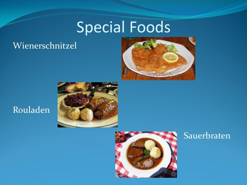 Special Foods Wienerschnitzel Rouladen Sauerbraten