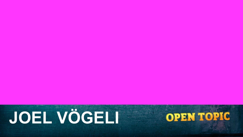 Namen JOEL VÖGELI