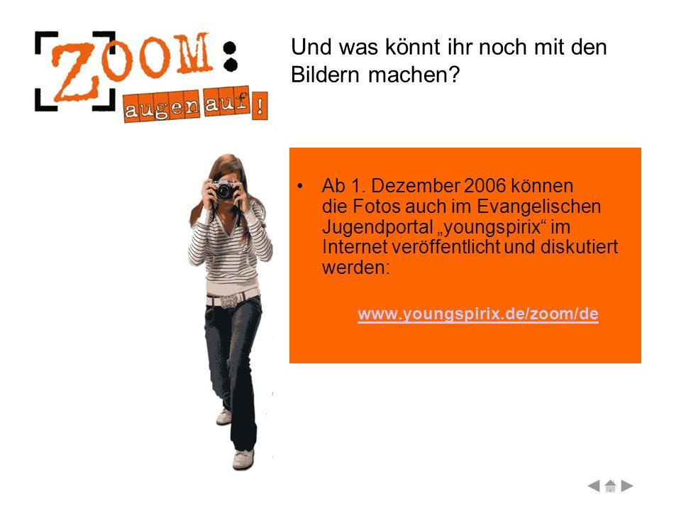 Und dann? Ein Bild oder beide Bilder werden mit ein bisschen Glück ausgewählt für die Fotoausstellung auf dem Kirchentag in Köln.