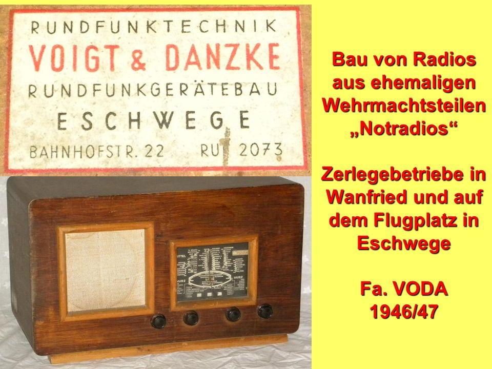 1945: Die Siegermächte organisieren den Rundfunk nach dem System der BBC -gebührenfinanziert -dezentral organisiert -durch Gremien kontrolliert -damal