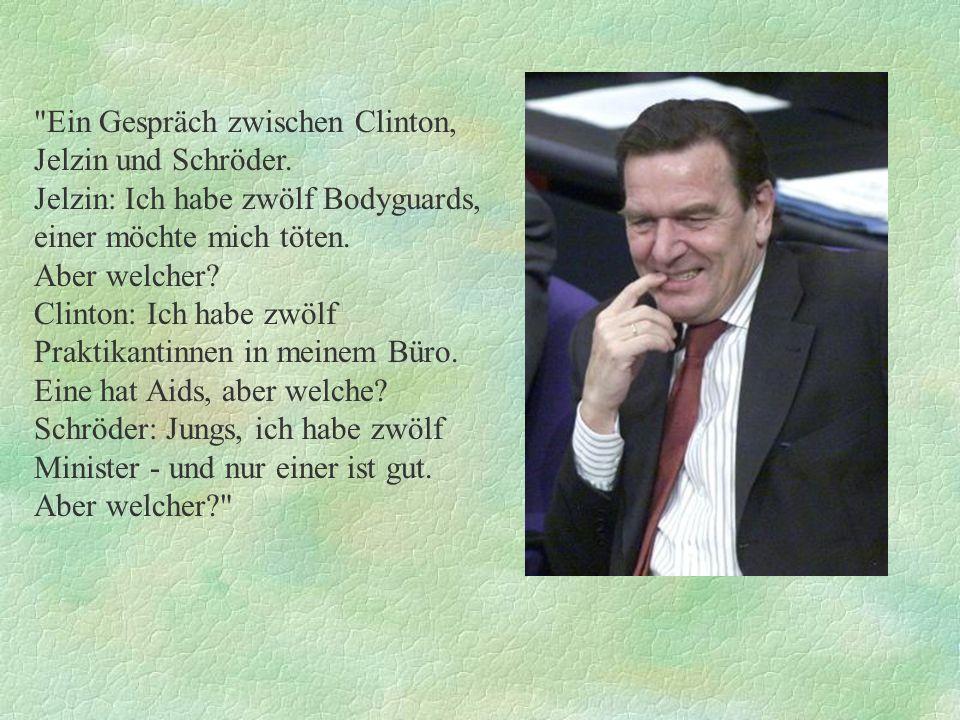Was ist der Unterschied zwischen der Regierung Schröder und den Ford-Werken? Ford - die tun was!