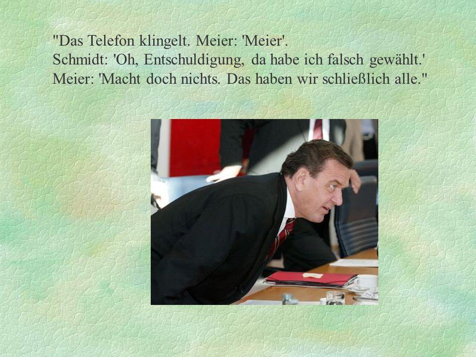 Ein Gespräch zwischen Clinton, Jelzin und Schröder.