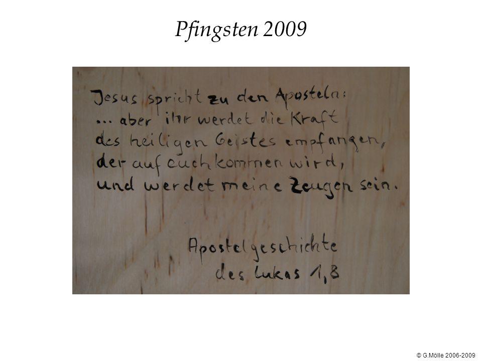 Pfingsten 2009 © G.Mölle 2006-2009