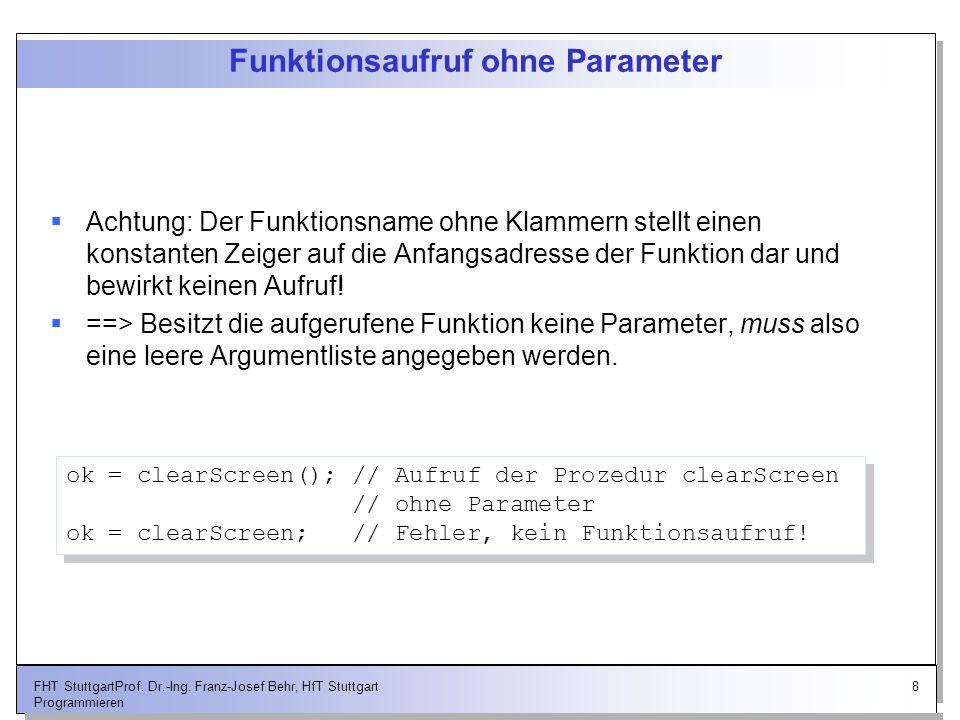 19FHT StuttgartProf.Dr.-Ing.