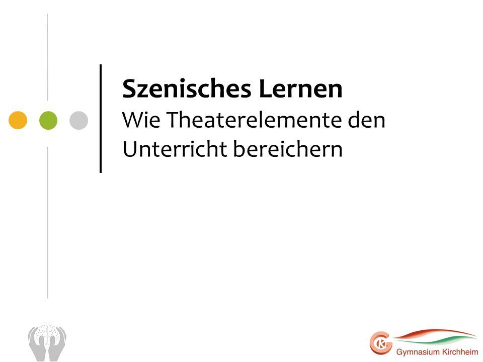 Szenisches Lernen Wie Theaterelemente den Unterricht bereichern