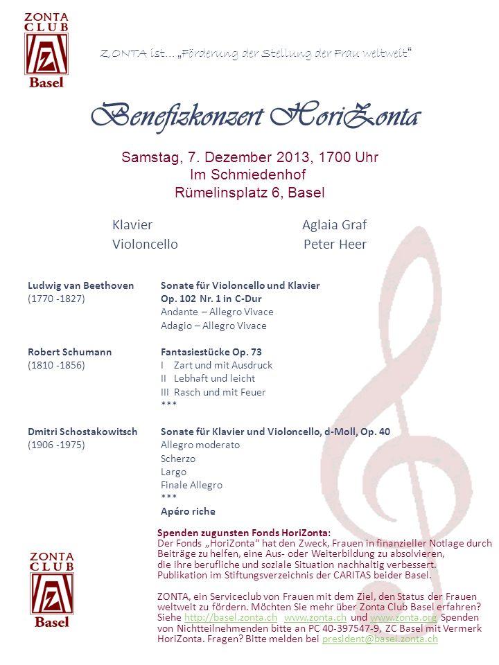 Ludwig van BeethovenSonate für Violoncello und Klavier (1770 -1827)Op. 102 Nr. 1 in C-Dur Andante – Allegro Vivace Adagio – Allegro Vivace Robert Schu