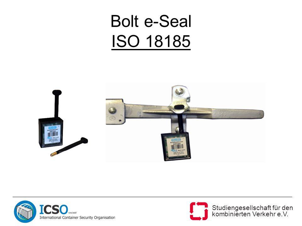 Studiengesellschaft für den kombinierten Verkehr e.V. Bolt e-Seal ISO 18185