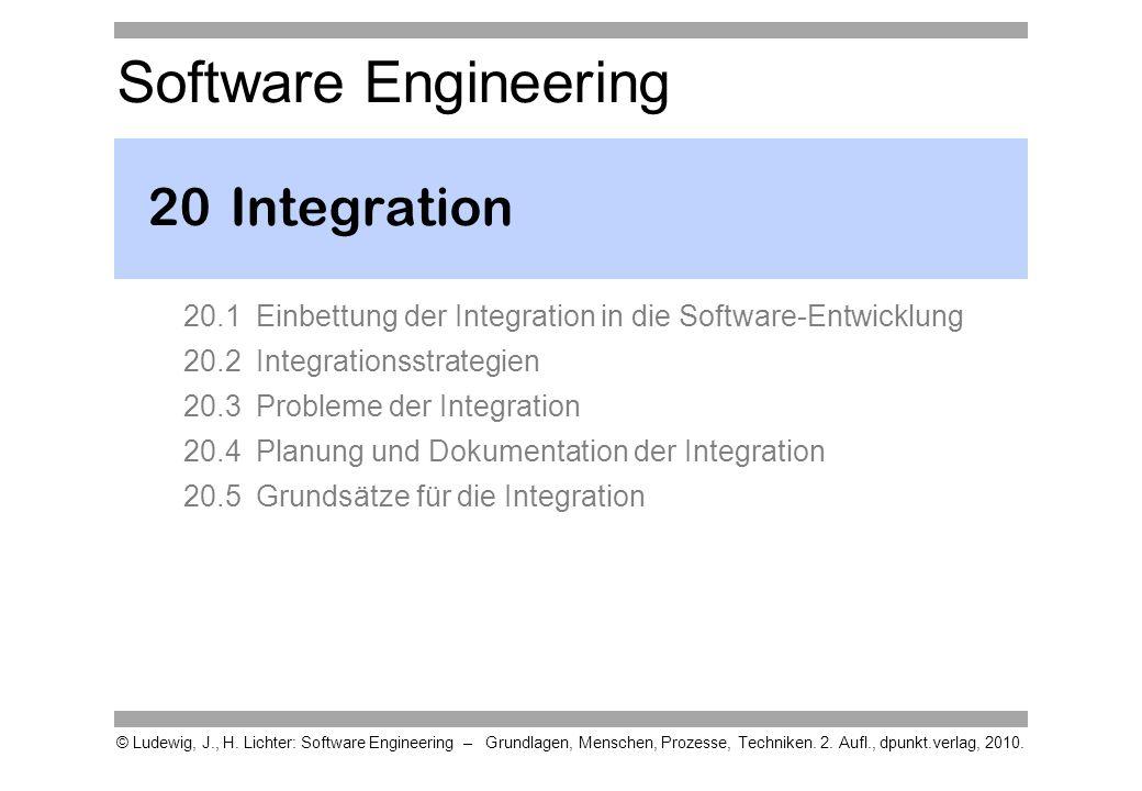Einordnung Dieses Kapitel betrachtet die Montage des Systems, die Integration.