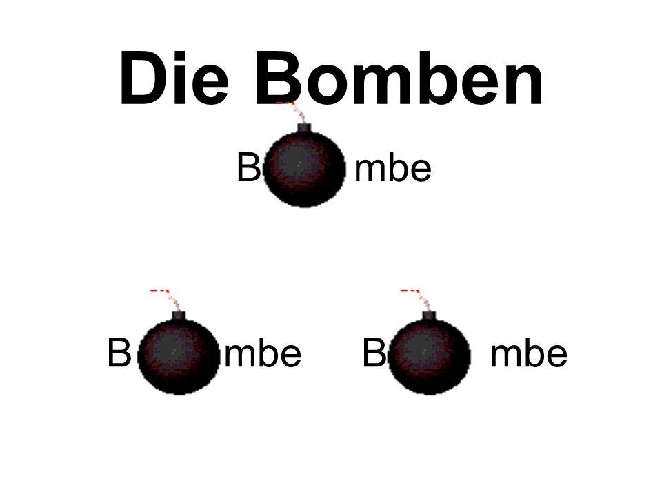 Die Bomben ® Rudi Österreicher