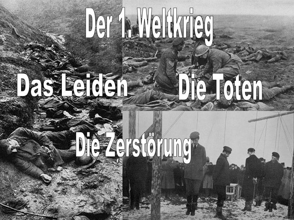 INHALT: Welche Staaten beteiligten sich am 1.Weltkrieg.