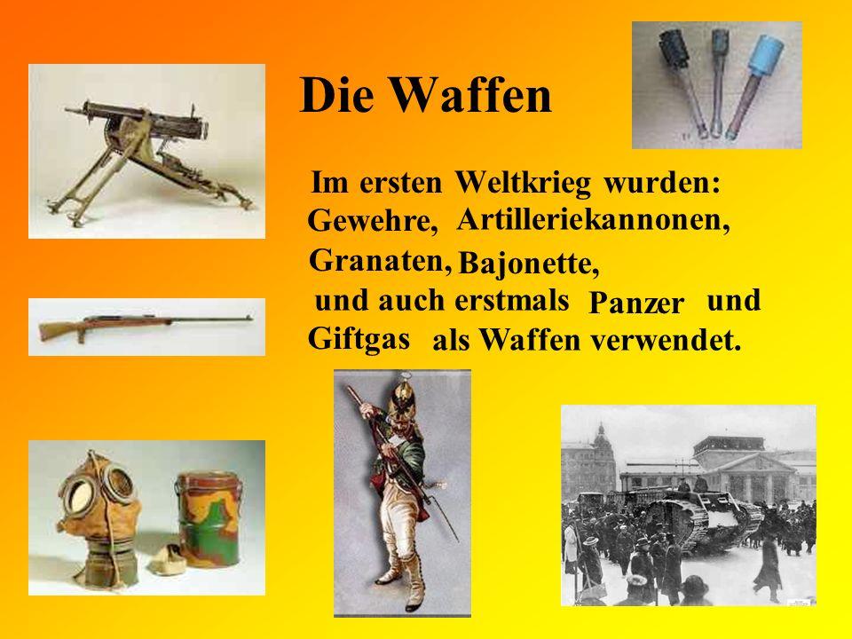 Insgesamt Nationen beteiligten sich am 1.Weltkrieg.