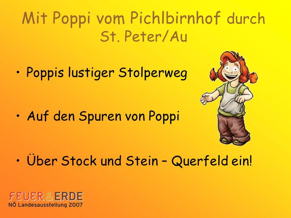 Mit Poppi vom Pichlbirnhof durch St.