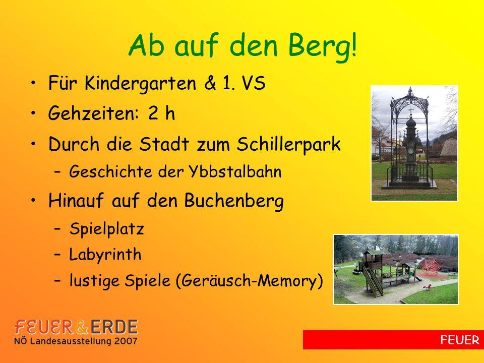 Ab auf den Berg.Für Kindergarten & 1.