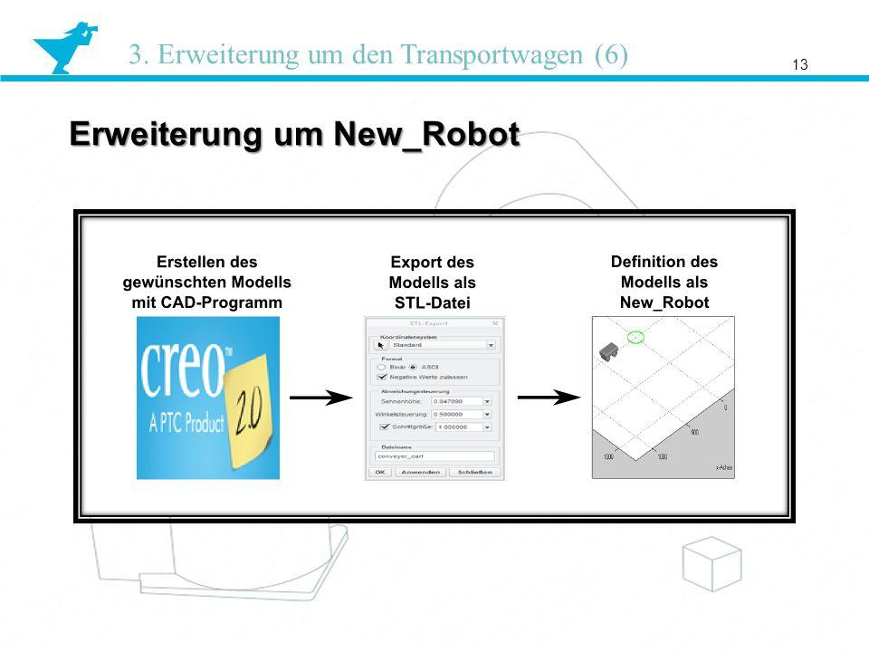 Erweiterung um New_Robot 13 3. Erweiterung um den Transportwagen (6)