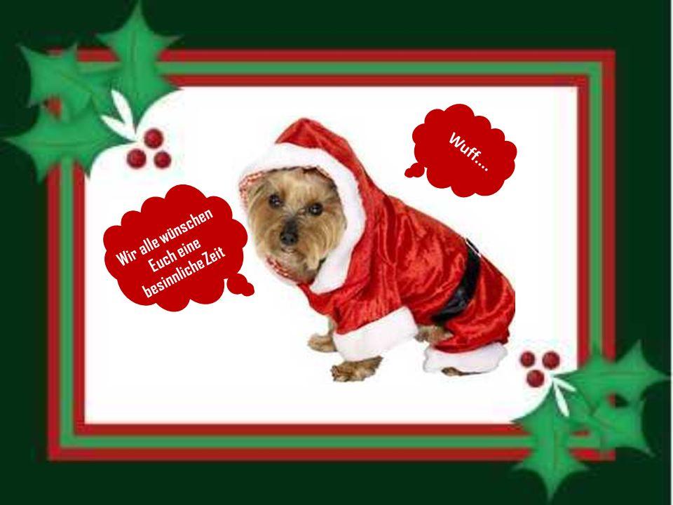 Die Tiere diskutierten einmal über Weihnachten. Sie stritten, was wohl die Hauptsache an Weihnachten sei.