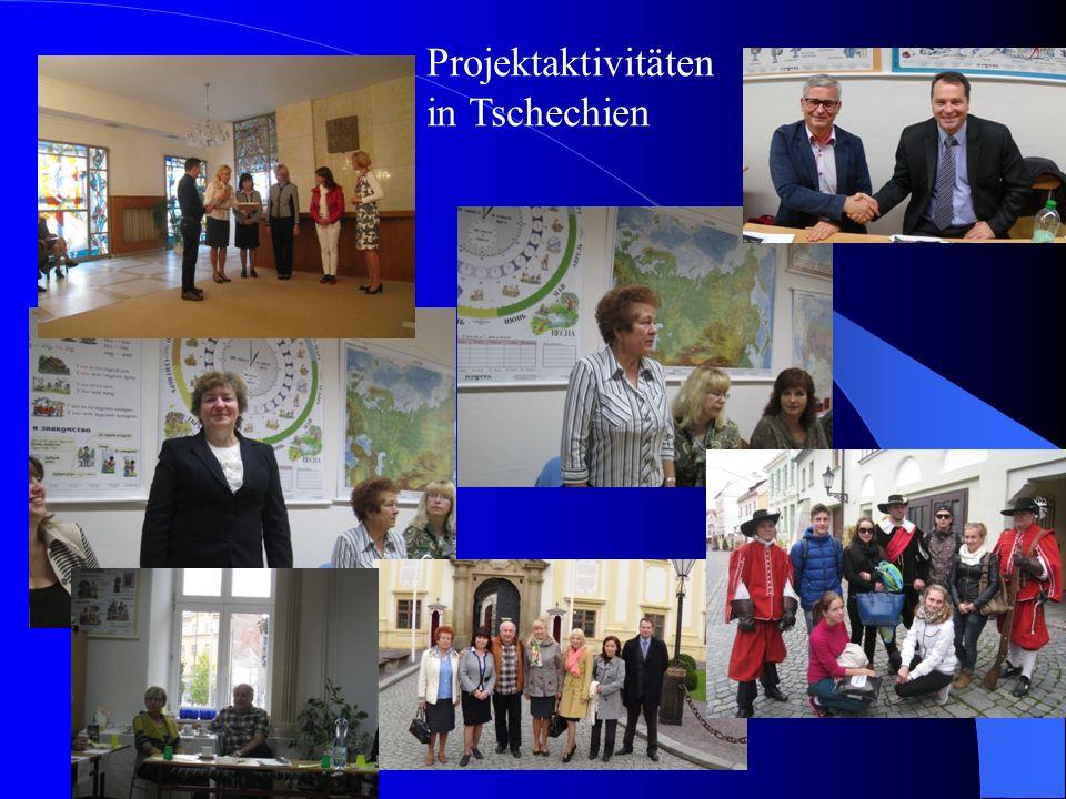Projektaktivitäten in Tschechien