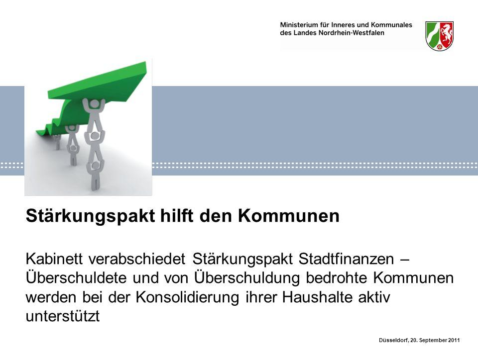 2Stärkungspaktgesetz Düsseldorf, 20.