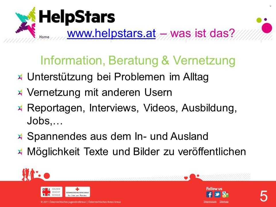 6 www.helpstars.atwww.helpstars.at – Extras GEWINNE TESTIMONIAL